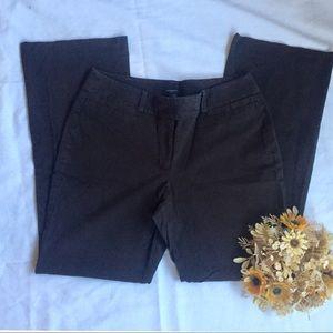 Ann Taylor Curvy Navy Dress Pants Size 6